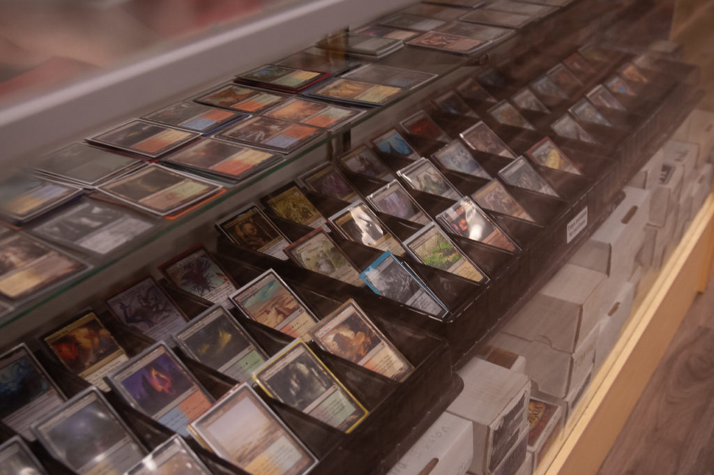 Huzzah Hobbies has a wide selection of MAGIC the Gathering singles to choose from.